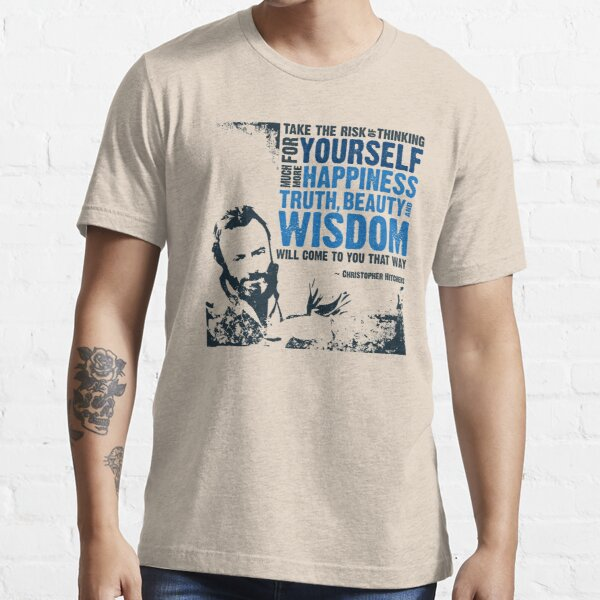 Christopher Hitchens: Think For Yourself Essential T-Shirt