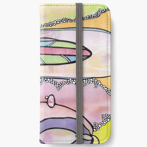 Rainbow Ocean iPhone Wallet