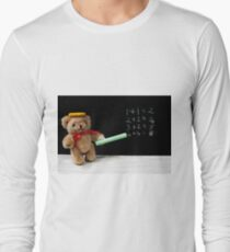 Teacher Ted Finally gets his Sums Right Long Sleeve T-Shirt