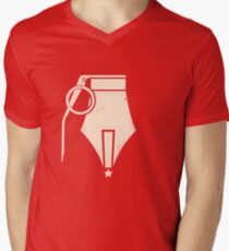 Propaganda Men's V-Neck T-Shirt
