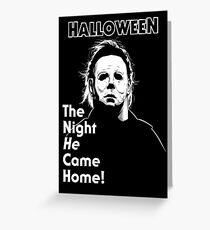Haddonfield Boogeyman Greeting Card