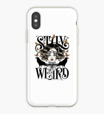 Rose and The Ravens {Stay Weird} Colour Version iPhone Case