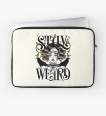 Rose and The Ravens {Stay Weird} Colour Version Laptop Sleeve