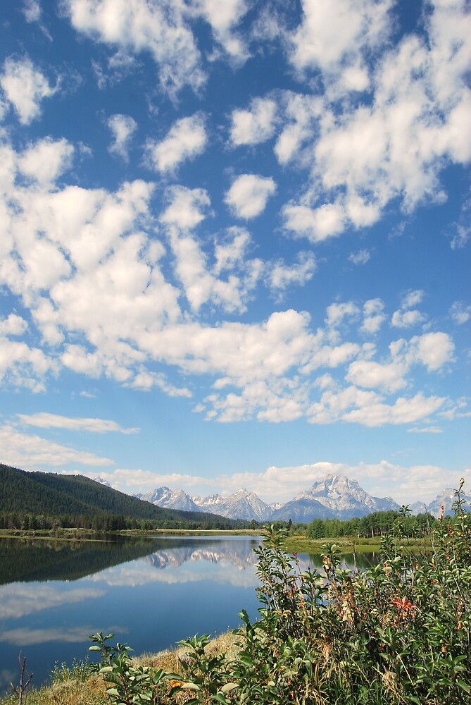 Grand Tetons by marycloch