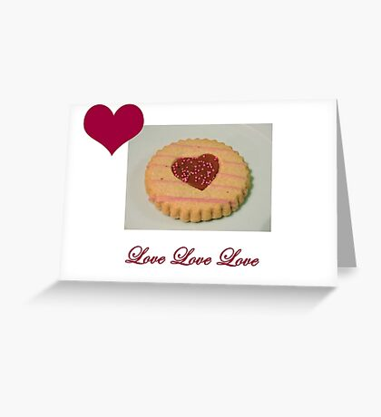 Love Biscuit Greeting Card