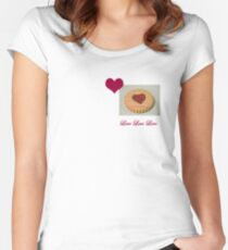 Love Biscuit Women's Fitted Scoop T-Shirt