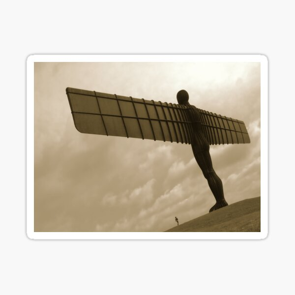The Angel of the North Sticker
