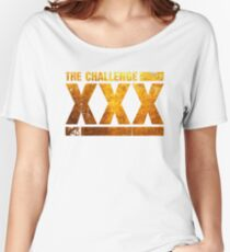 The Gold Logo Of The Challenge Series Women's Relaxed Fit T-Shirt