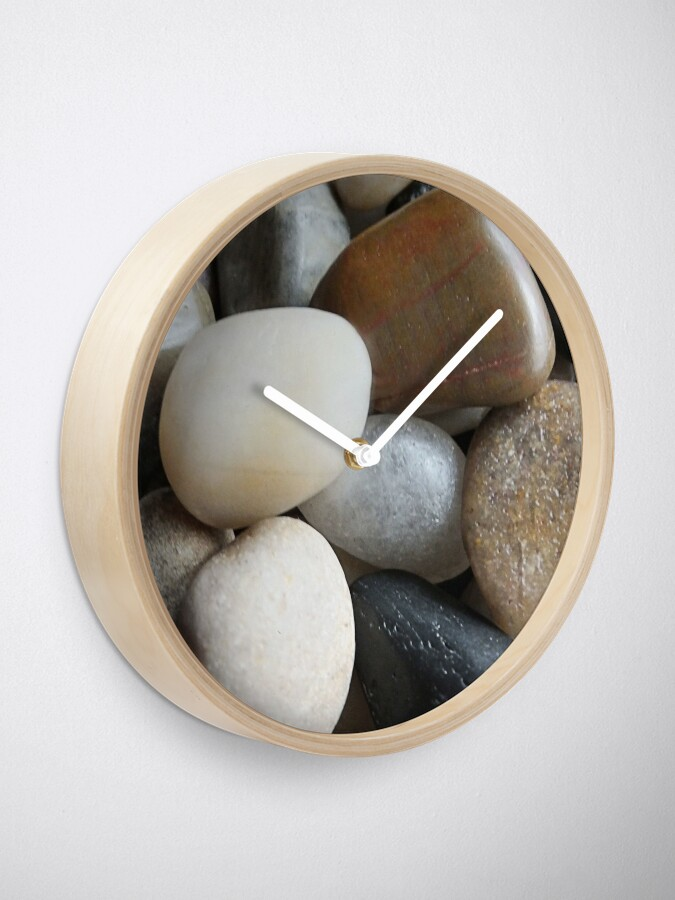 Alternate view of Pebbles Clock