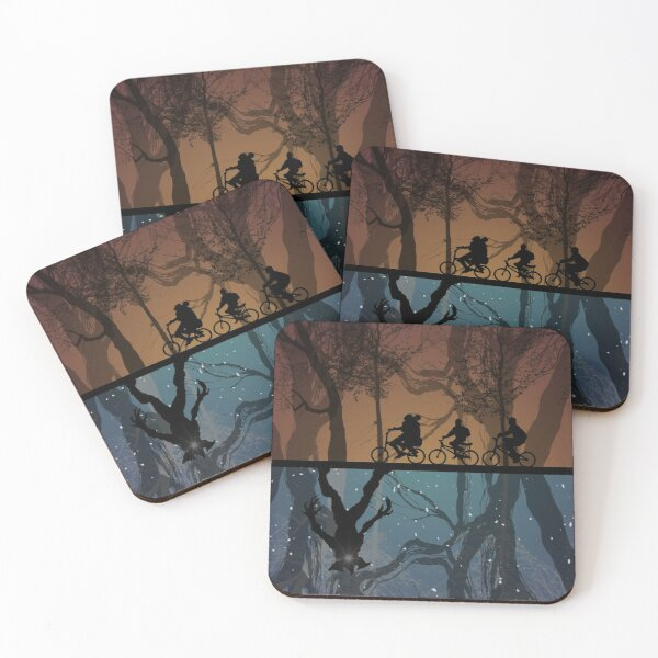 Stranger Things Coasters (Set of 4)