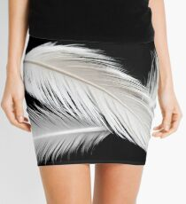 Three birdy feathers Mini Skirt