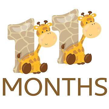 11 Months. Safari/Jungle theme by AlaskaGirl