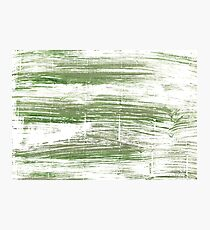 Camouflage green abstract watercolor background Photographic Print