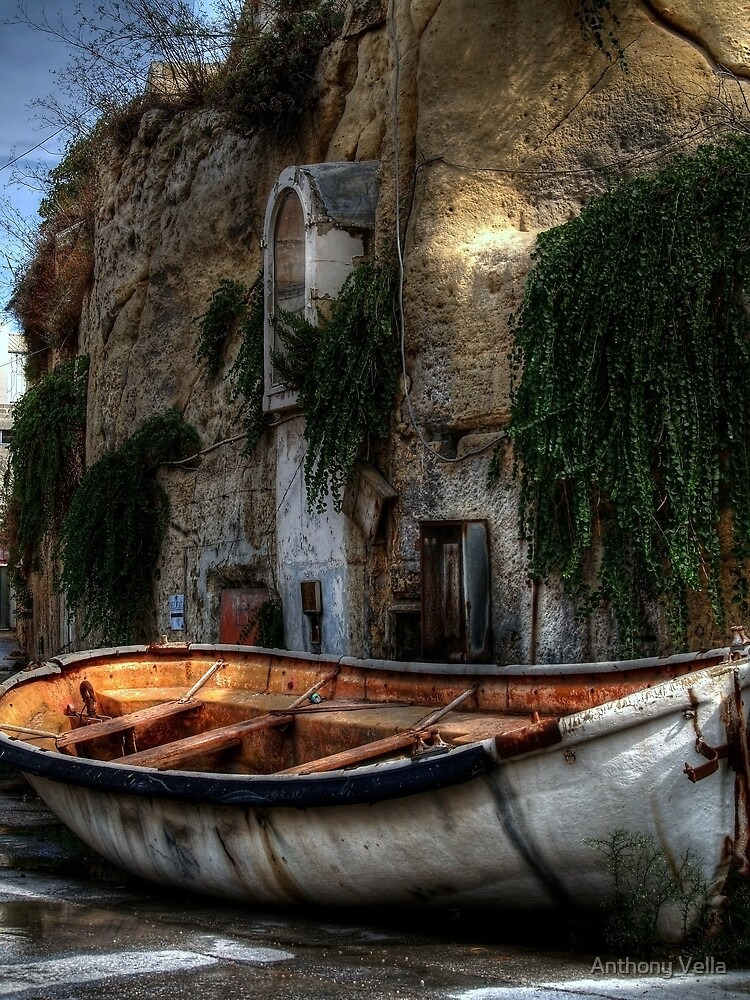 Old lifeboat by Anthony Vella