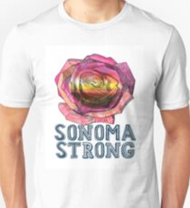 #SONOMAStrong Campaign  T-Shirt