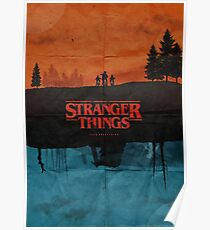 Stranger Things Poster Poster