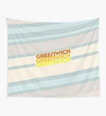 Greenwich | Retro Stack Wall Tapestry