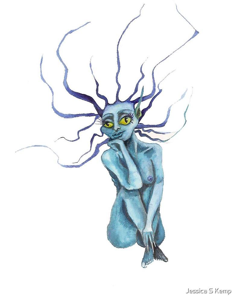 Blue Sprite by Jessica S Kemp