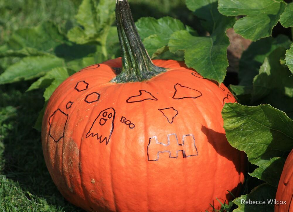 Happy Halloween by Rebecca Brann
