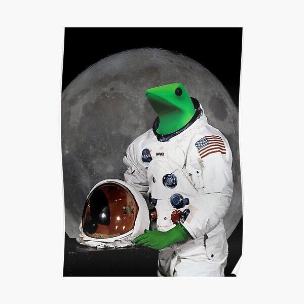 Dat Boi Astronaut Poster