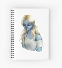 Bruna: Character Portrait Spiral Notebook