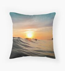Sunset in Paradise Floor Pillow