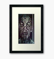 Charlie M B&W Framed Print