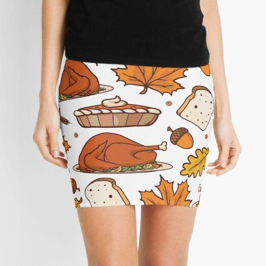 THANKSGIVING Mini Skirt