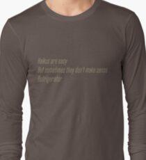 Die Flash (Cisco-Shirt) - Haikus sind einfach, aber manchmal machen sie keinen Sinn Kühlschrank Langarmshirt
