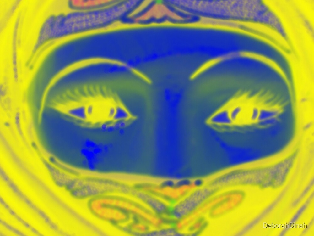 Desert eyes by DeborahDinah