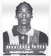 SNOOP-DOGG-BECHER Poster