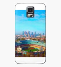 Drone Shot of Dodger Stadium & the Los Angeles Skyline Case/Skin for Samsung Galaxy
