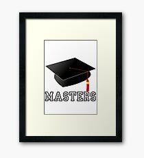 Masters Framed Print