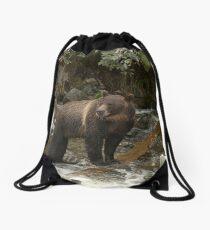 On the hunt - Great Bear Rainforest, Canada Drawstring Bag