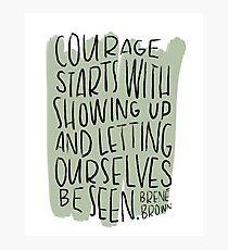 Courage Photographic Print