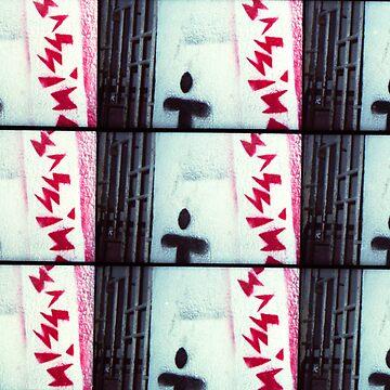 stencil street art Brazil by samuelRakse