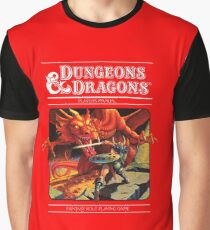 Dungeons and Dragons Red Box (Remastered) Graphic T-Shirt