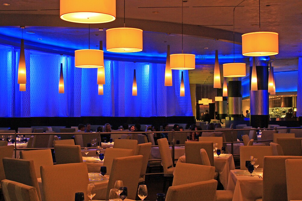 Blue Dining by Tim craftmyphoto Farrell