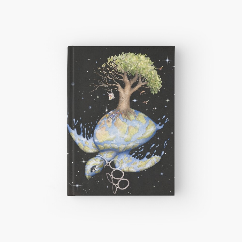 Endangered - Global Warming and Climate Change Hardcover Journal