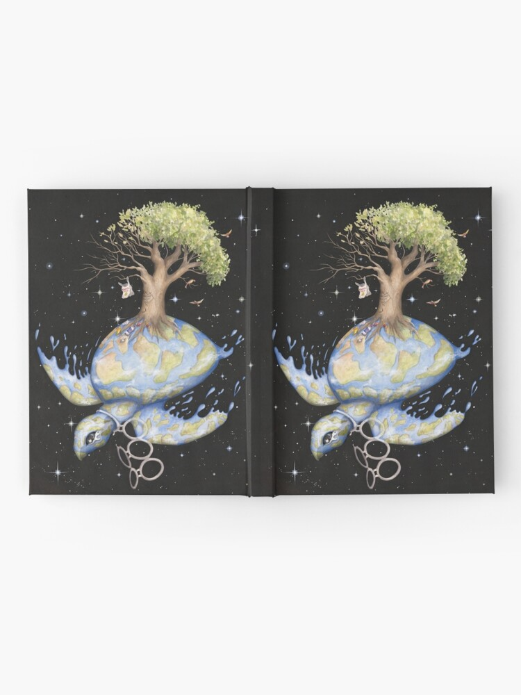 Alternate view of Endangered - Global Warming and Climate Change Hardcover Journal