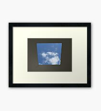Skyspace by James Turrell (Yorkshire Sculpture Park) Framed Print