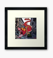 Monsters in Milan 9  Framed Print