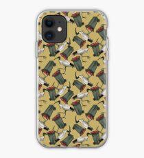 Bin Chicken - Mustard iPhone Case