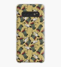 Bin Chicken - Mustard Case/Skin for Samsung Galaxy
