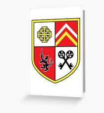 Coat of Arms Keys Greeting Card