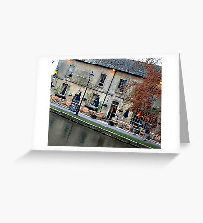 Bourton on the Water Angled Greeting Card