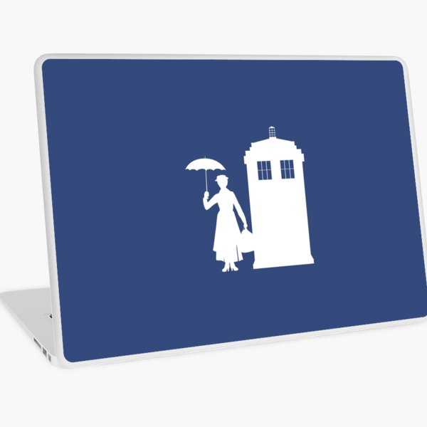 MARY WHOVIANS Laptop Skin