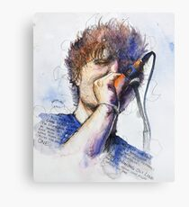 Colors and Ed Canvas Print