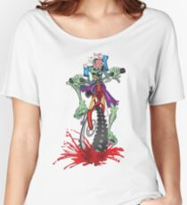 Z Bike Apocalyptic Splatter  Women's Relaxed Fit T-Shirt