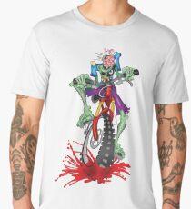 Z Bike Apocalyptic Splatter  Men's Premium T-Shirt